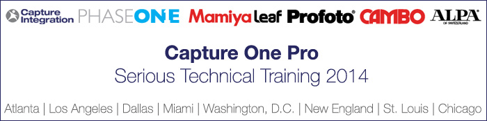 Capture One Pro Serious Technical Training 2014