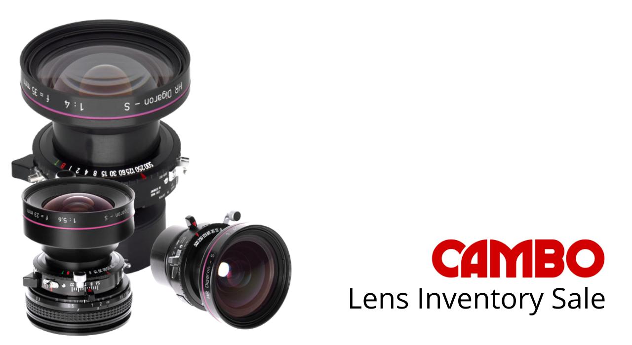 Lenses Inventory Sale