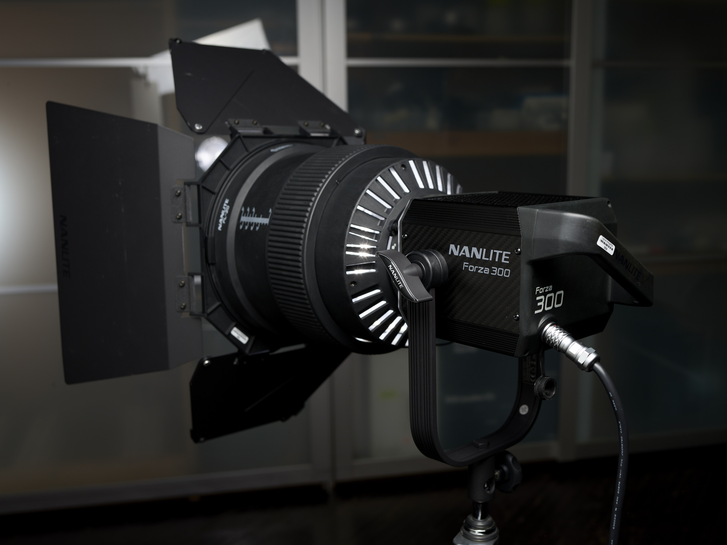 Nanlite-Forza-300_Head_and_Fresnel